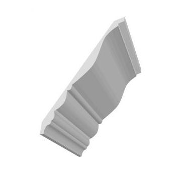 1 X 81 /4 CROWN molding PRIMED #814,仅16'