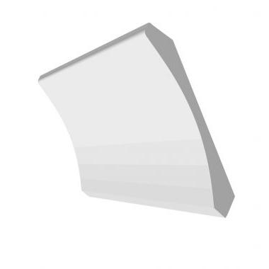 3/4 X 5 1/4 CROWN molding PRIMED #653, 16' only