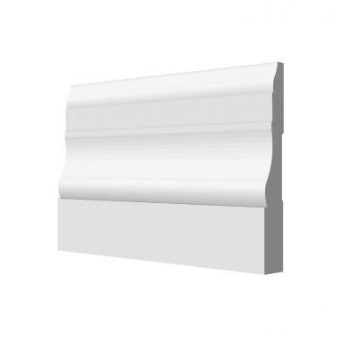 9/16 X 3 1/4 COLONIAL BASE PRIMED #631, 16' Only