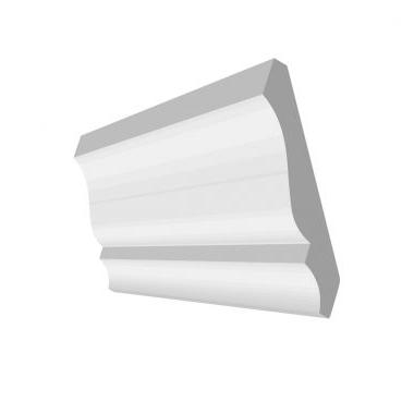 9/16 X 4 1/4 CROWN molding PRIMED #48,仅16'